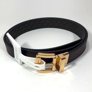Michael kors reversible women's belts